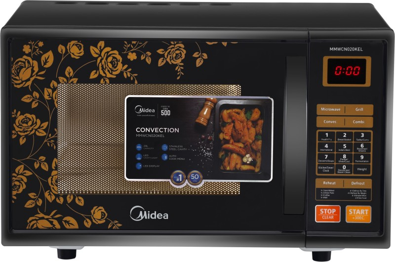 Midea 20 L Convection Microwave Oven Mmwcn020kel