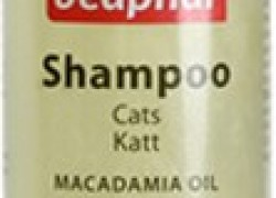 Beaphar Macadamia Oil Anti-dandruff, Flea and Tick, Hypoallergenic, Whitening and Color Enhancing, Allergy Relief, Anti-parasitic, Conditioning, Anti-fungal, Anti-microbial, Anti-itching Cat Shampoo(250 ml)