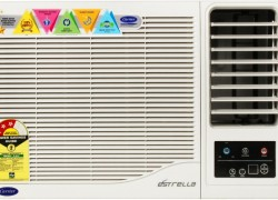 CARRIER 1 Ton 3 Star Window AC (Estrella CAW12ET3N8F0 & Copper Condenser)