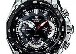 Casio Edifice Chronograph Black Dial Men's Watch – EF-550D-1AVDF