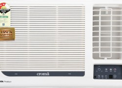 Croma 1.5 Ton 3 Star Window AC (CRAW1152 & Copper Condenser)