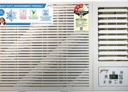 Godrej 1 Ton 3 Star Window AC (GWC 12DTC3-WSA & Copper Condenser)