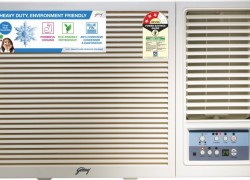 Godrej 1.5 Ton 3 Star Window AC  – White(GWC 18UTC3-WSA, Copper Condenser)