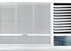 Hitachi 1.5 Ton 5 Star Window AC  – White(RAW518KUDZ1, Copper Condenser)