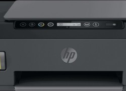 HP Smart Tank 515 wireless Multi-function Color Printer(Black, Ink Bottle)