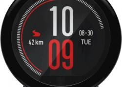 Huami Amazfit Pace Smartwatch(Red Strap &  Regular)