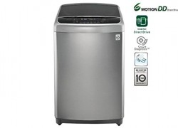LG 11 kg Fully Automatic Top Load Washing Machine Silver, Black  (T1064HFES5A)